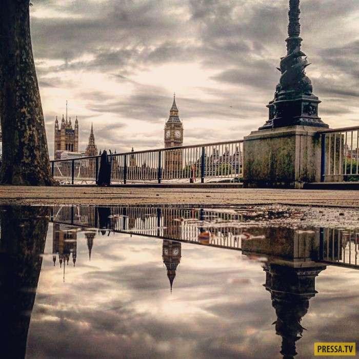 Зеркальные фотографии, которые кажутся параллельными мирами (13 фото)