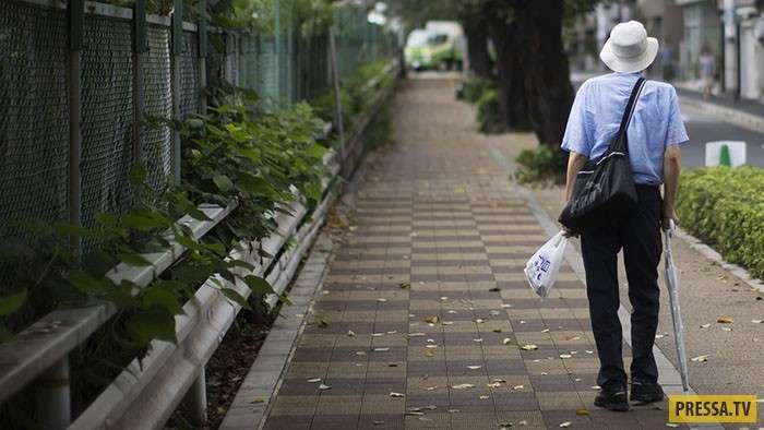 Демографическая бомба замедленного действия: В Японии возрождается жестокий обычай Убасутэ на новый лад (9 фото)