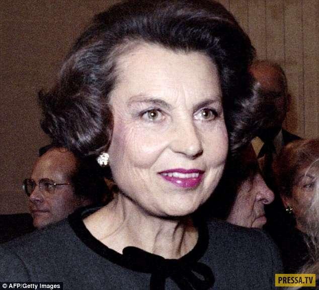 В Париже умерла самая богатая женщина в мире - Лилиан Беттанкур (16 фото)
