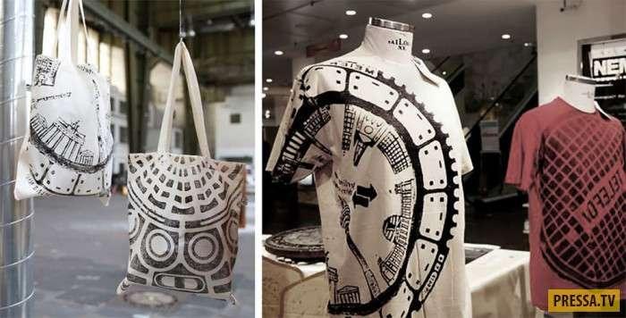 Дизайнер использует обычные люки, чтобы делать уникальную одежду (13 фото)