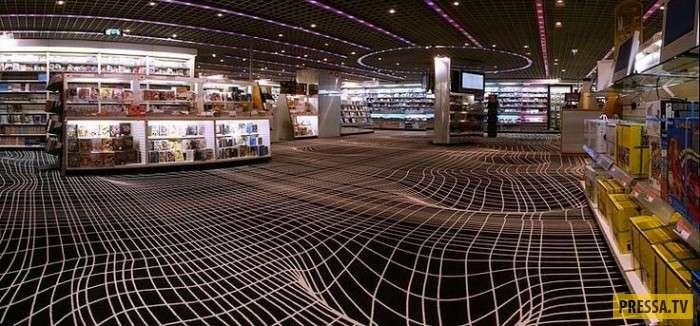 Оптические иллюзии, от которых земля уходит из-под ног (11 фото)
