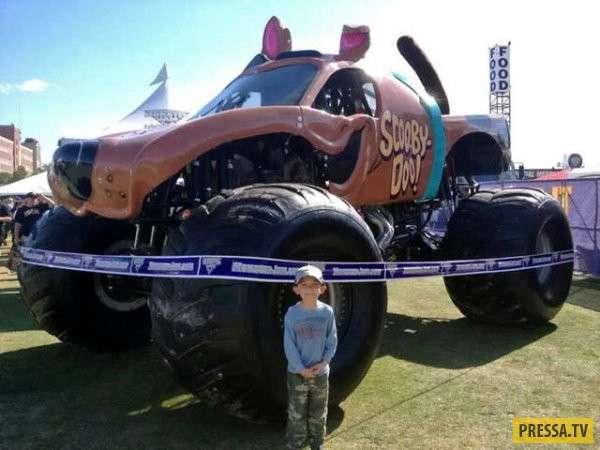 Самые дикие фантазии автолюбителей, нелепый и смешной тюнинг автомобилей (38 фото)