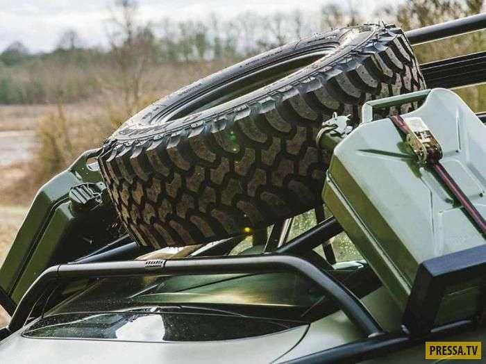 Внедорожная версия Bentley Continental выставлена на продажу (9 фото)