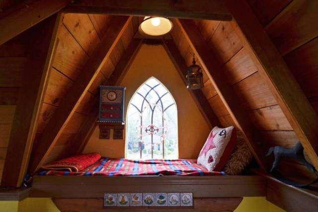Сказочный дом для внуков стал явью