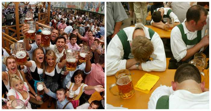 Даже Октоберфест не повод напиваться в стельку