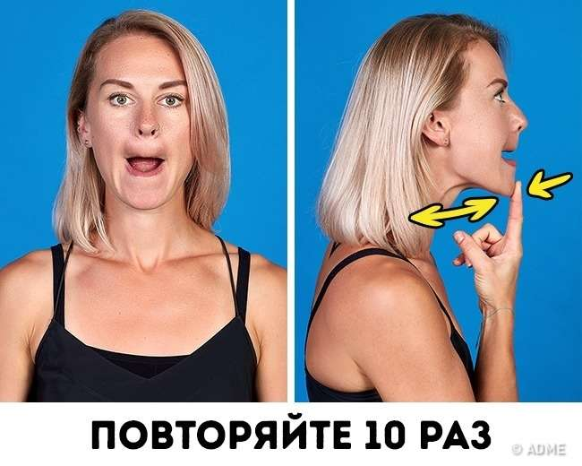 Как похудеть за неделю на лице