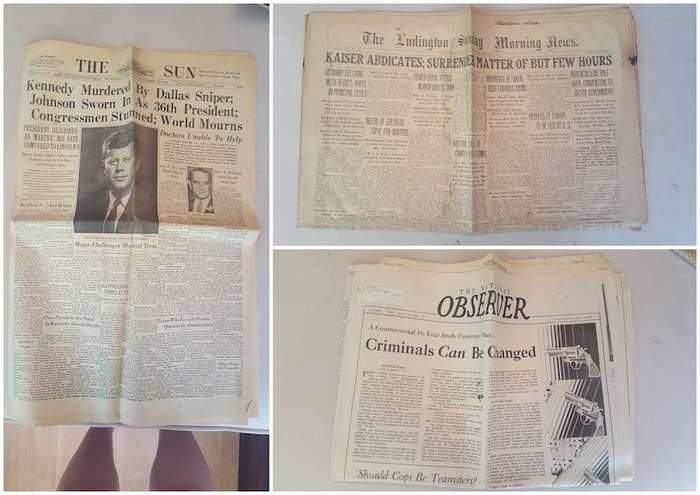 Парень нашел в дедушкином сундуке историческое сокровище-9 фото-