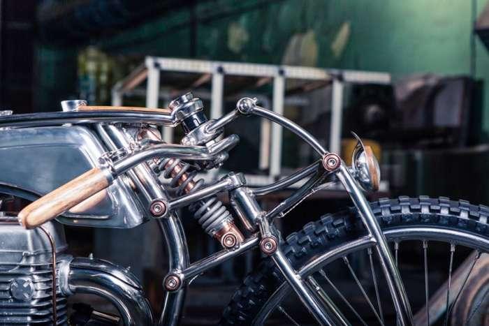 Ретроборд-трекер Jawa 500. Пол-литра искусства-18 фото-
