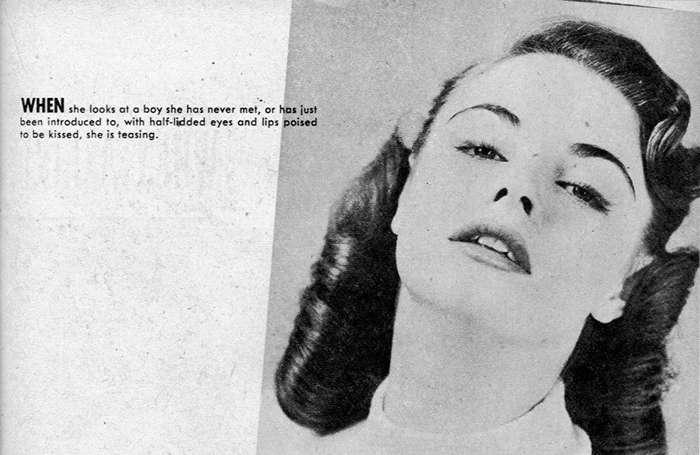 Как определяли -плохих девушек- в 1952 году-9 фото-