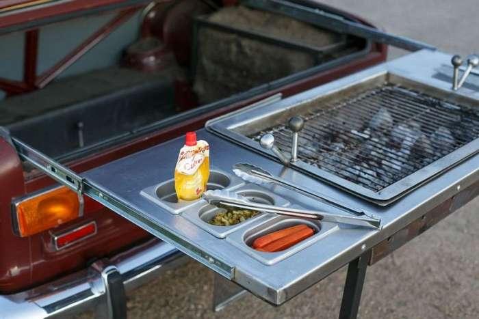 -Жигули- со встроенным в багажник грилем-11 фото-