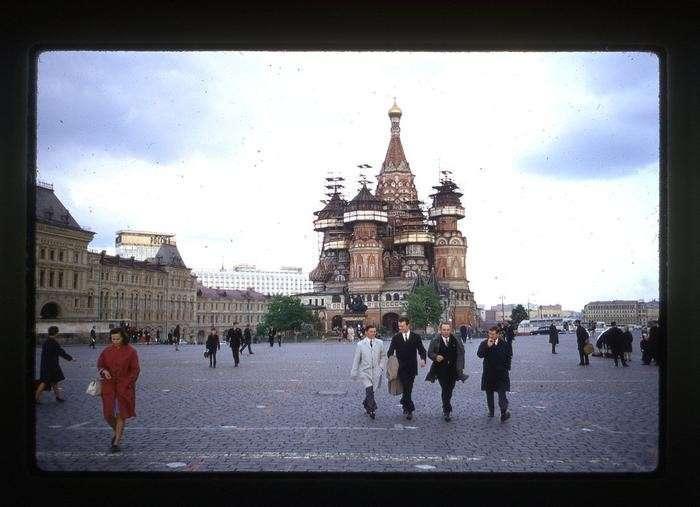 СССР весной 1969 года глазами интуриста-62 фото-