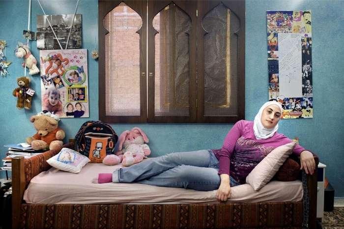 Девушки и их комнаты-28 фото-