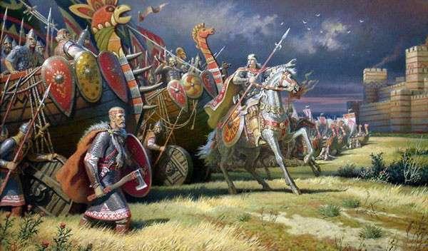 Чем воевали древние славяне?-9 фото-