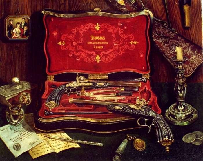 Дуэльное оружие и дуэльный кодекс-21 фото + 2 видео-