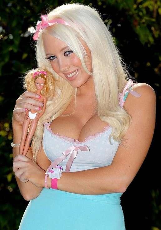 Живые Барби-11 фото-