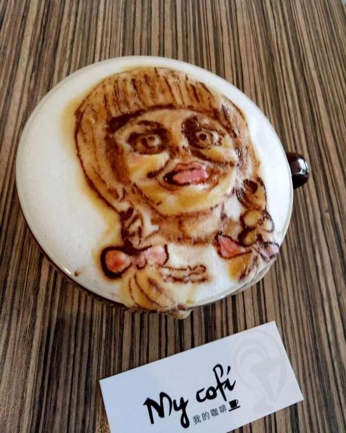 3D-ужасы на кофе из молочной пены или кофе с тараканами-16 фото-