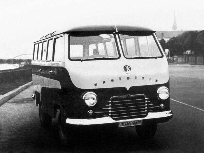 РАФ: необычные разработки Рижской автобусной фабрики-13 фото-