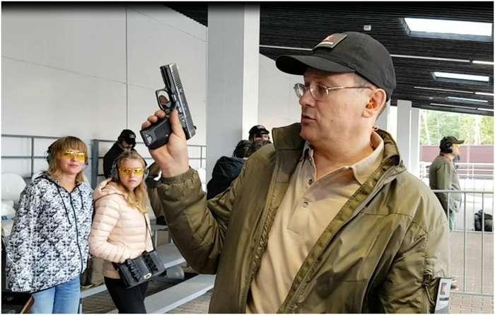 Стреляю из -Лебедева-, спрашиваю у Лебедева-2 фото + 1 видео-