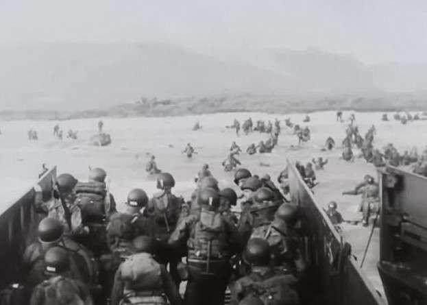 Найдена пропавшая пленка с уникальными кадрами высадки союзников в Нормандии-8 фото + 1 видео-