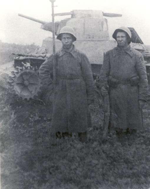 Последний танковый бой Второй мировой войны-11 фото-