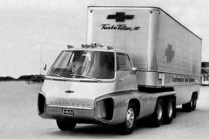 Концепт Chevrolet Turbo Titan III с газотурбинным мотором-9 фото-