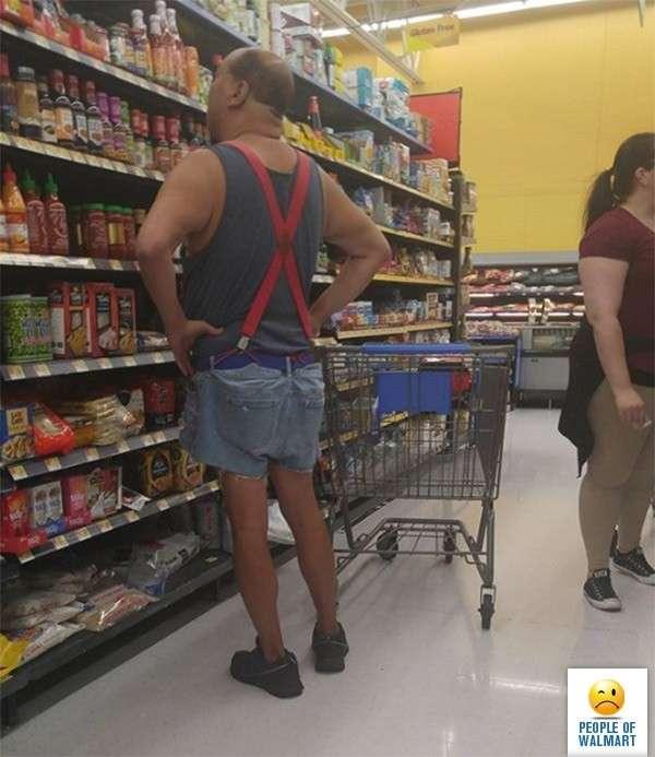 Эти люди просто пришли за покупками в американский супермаркет Walmart-22 фото-