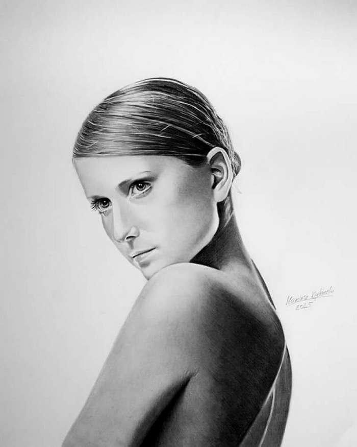 Мариуш Кедзерский — безрукий художник с невероятным талантом и большими планами-15 фото-
