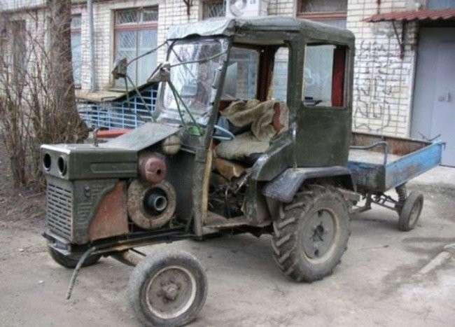 Необычные и странные автомобили-24 фото-