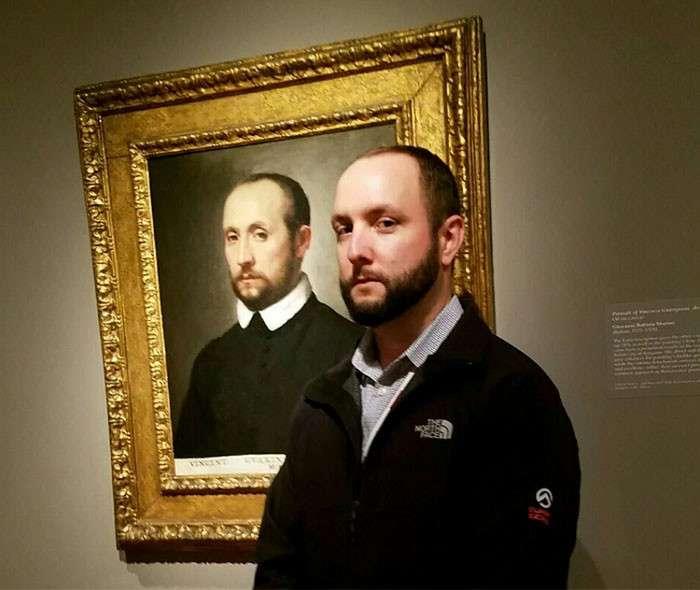 Люди, которые нашли своих двойников на картинах-27 фото-