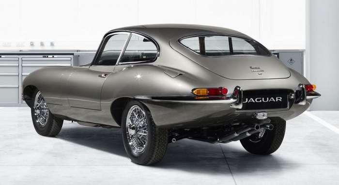 Классический Jaguar E-Type с оптикой от современного Nissan-8 фото-