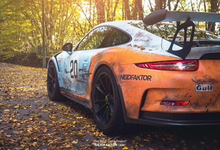 Немцы состарили новый Porsche 991 GT3 RS-15 фото-