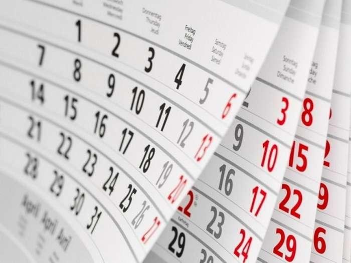 Одобрен график выходных и праздничных дней на 2018 год-1 фото-