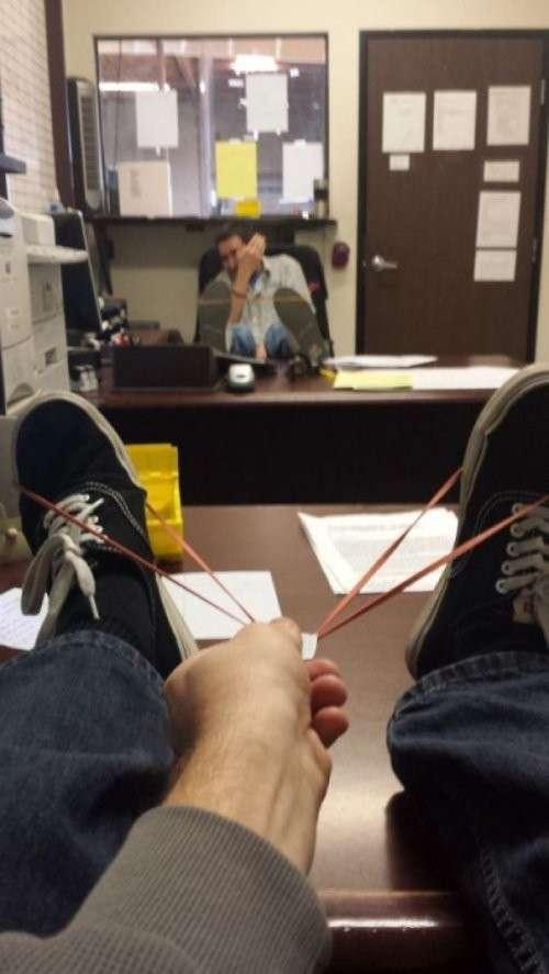 Тот случай, когда на работе много свободного времени!-27 фото-