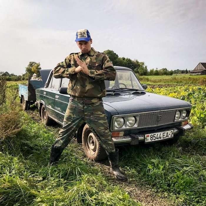 Беларусы капаюць бульбу-30 фото + 1 видео-