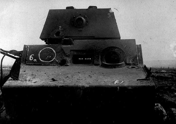 Тяжёлый трофей - танк -Тигр--16 фото-