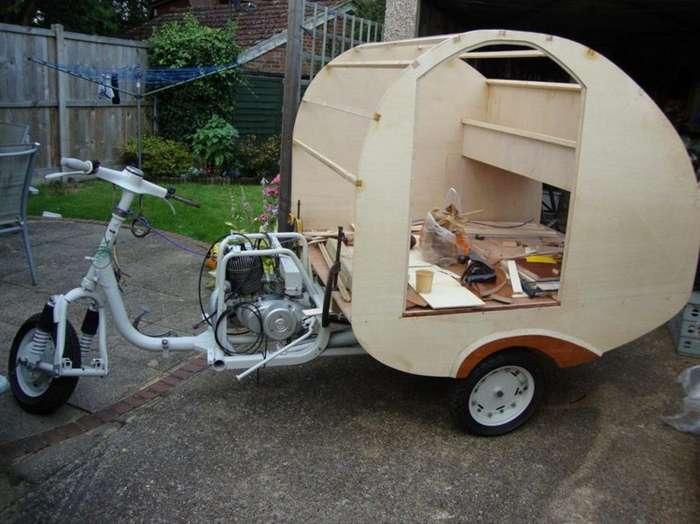 Муравей - дом на трех колесах из Англии-20 фото-