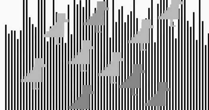 13 крышесносящих оптических иллюзий-2 фото + 3 видео + 10 гиф-