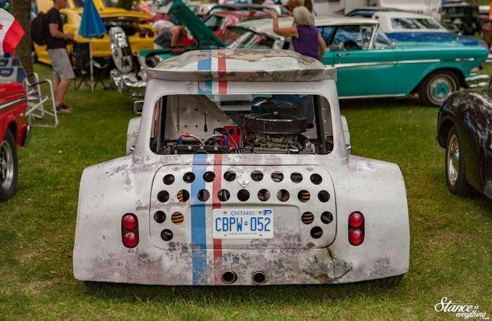 Классический Mini с мощным двигателем Chevy-6 фото-
