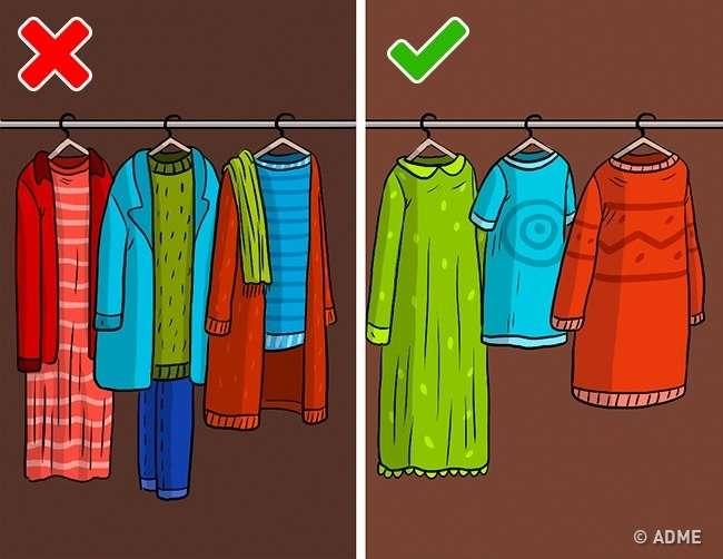 10ошибок вхранении, которые намного сокращают жизнь вашей одежде