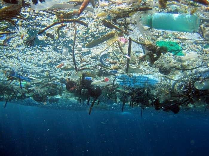 Тихоокеанское мусорное пятно предлагают признать государством-4 фото + 2 видео-