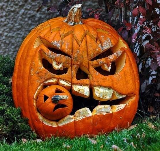 3 десятка идей уличного декора к Halloween-31 фото-