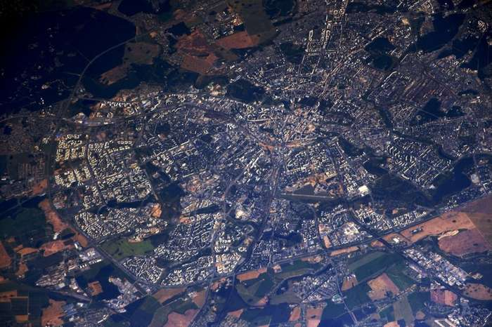 Фотографии Сергея Рязанского с борта МКС-44 фото-