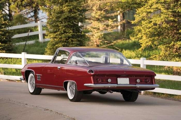 Купе Chrysler Ghia L6.4 1962 года-12 фото-