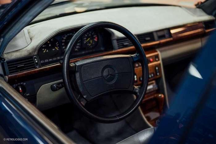 Единственный в мире Mercedes-Benz W124 AMG Hammer Wagon-10 фото + 1 видео-