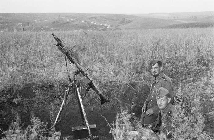 Станки для пулемётов как проявления сумеречного германского гения-18 фото-