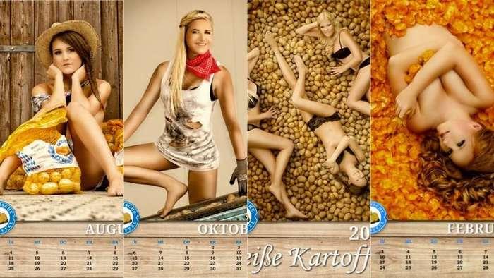 Самые странные календари-28 фото-