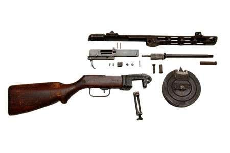 ППШ - пистолет-пулемет Шпагина. Автомат Победы-13 фото-