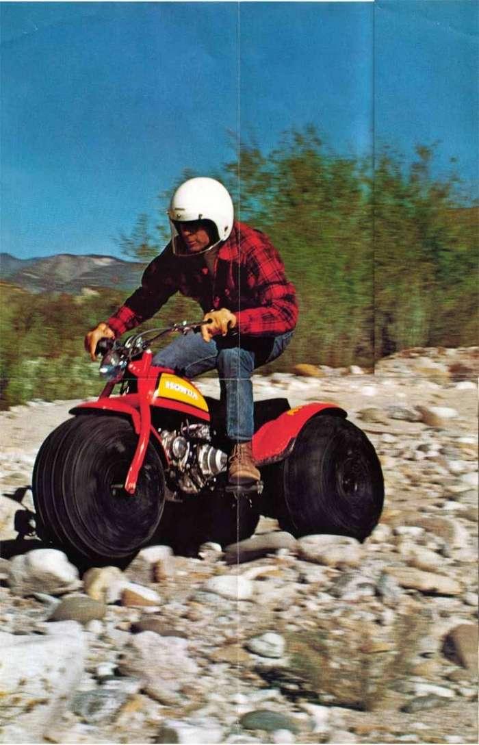 Honda US90 - Прародитель современных мотовездеходов - квадроциклов-8 фото + 1 видео-