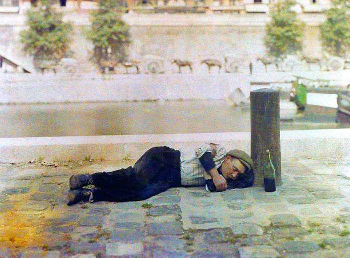 Как выглядел Париж 100 лет назад-13 фото-