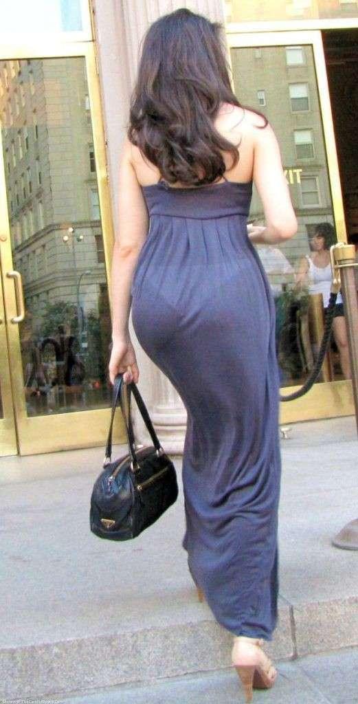 Есть подозрения, что женщины специально это надевают-21 фото-